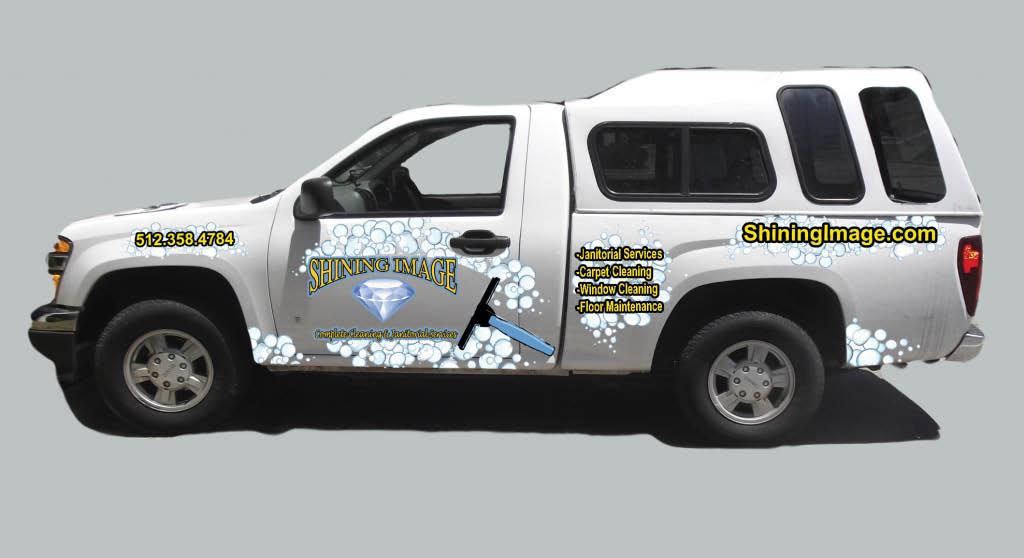 Shining image business vehicle truck