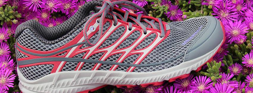 Many types of athletic shoes and sneakers