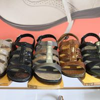 All sizes and colors of eye-catching strappy sandals