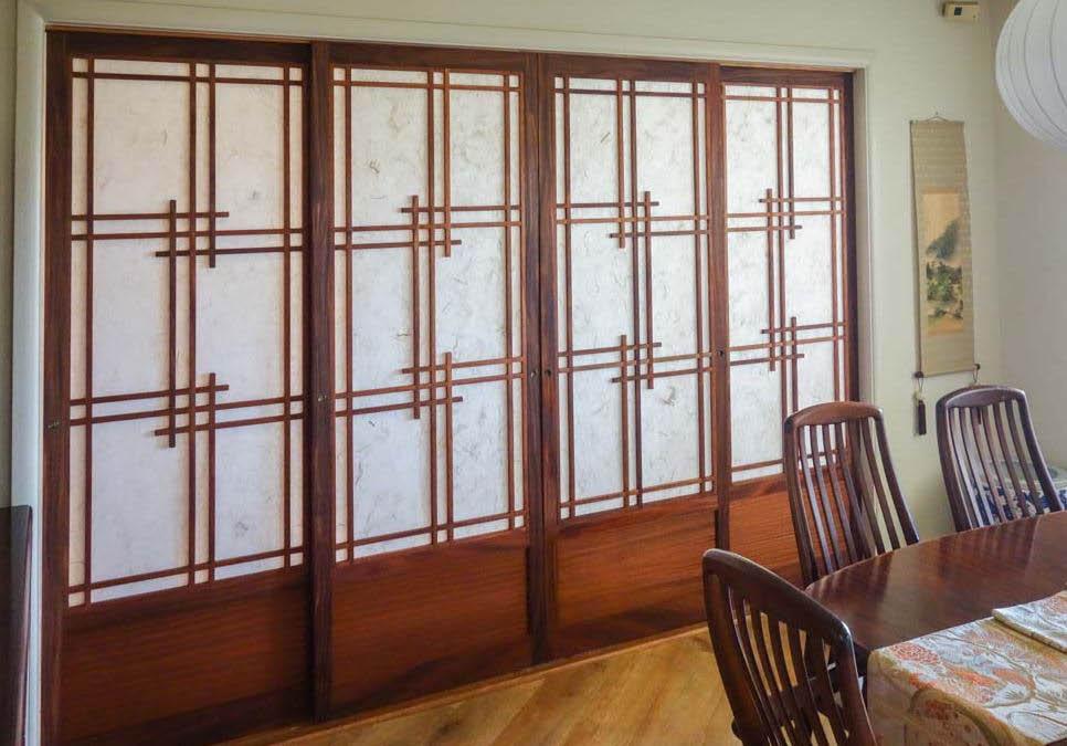 Shoji doors; room dividers; Oahu
