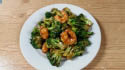 Spiced shrimp and other seafood recipe dishes at Great China
