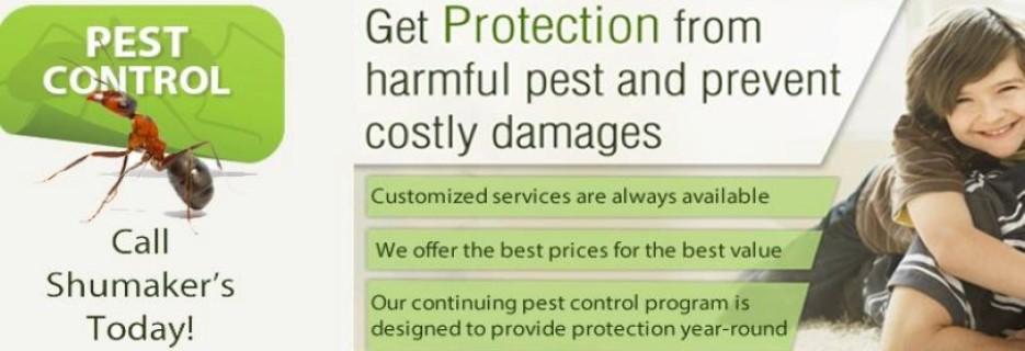 Shumaker's Pest Control Inc. banner Port Orange, FL