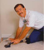 From time to time you have a need to re-stretch your Carpet.
