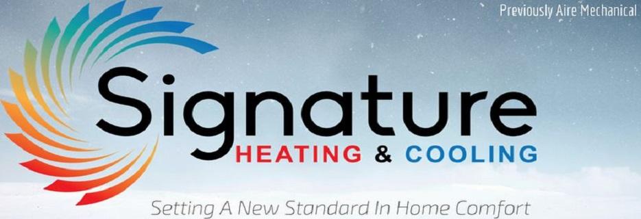 Signature Heating, Cooling & Plumbing banner Albuquerque, NM