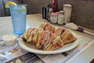 Overstuffed gourmet sandwiches are perfect for a quick lunch