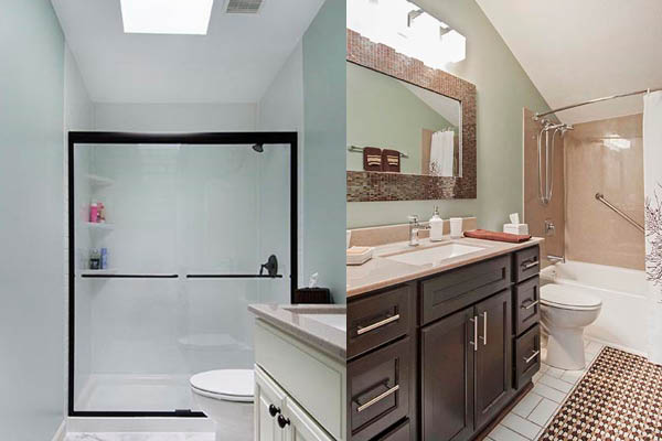Simple Bath bathroom replacement.