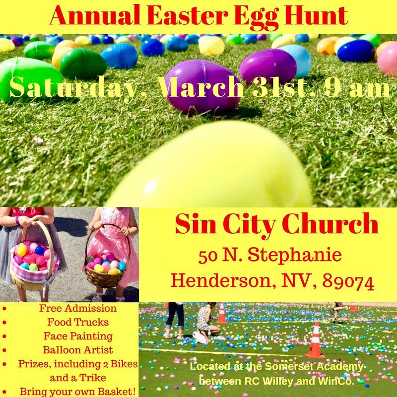 Easter Egg hunt las vegas NV family friendly children