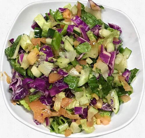 skewers salad