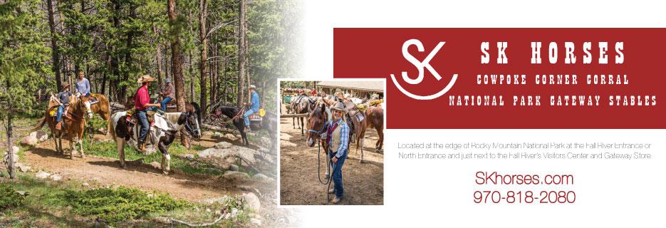 SK HORSES - Horseback Rides in Estes Park