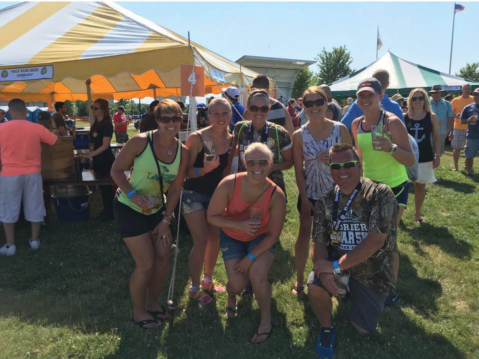 Finish the race with a party waiting for you!