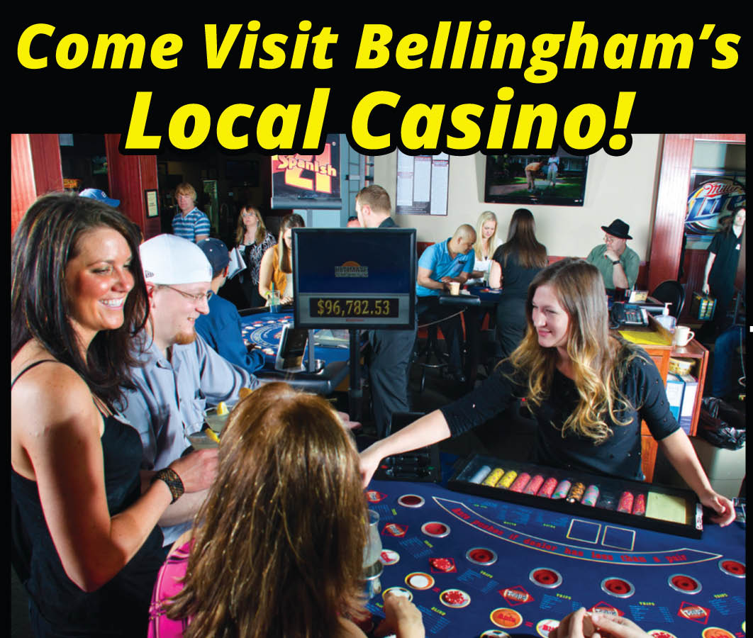 Slo Pitch Sports Grill & Casino Bellingham Casino and restaurant open 24/7