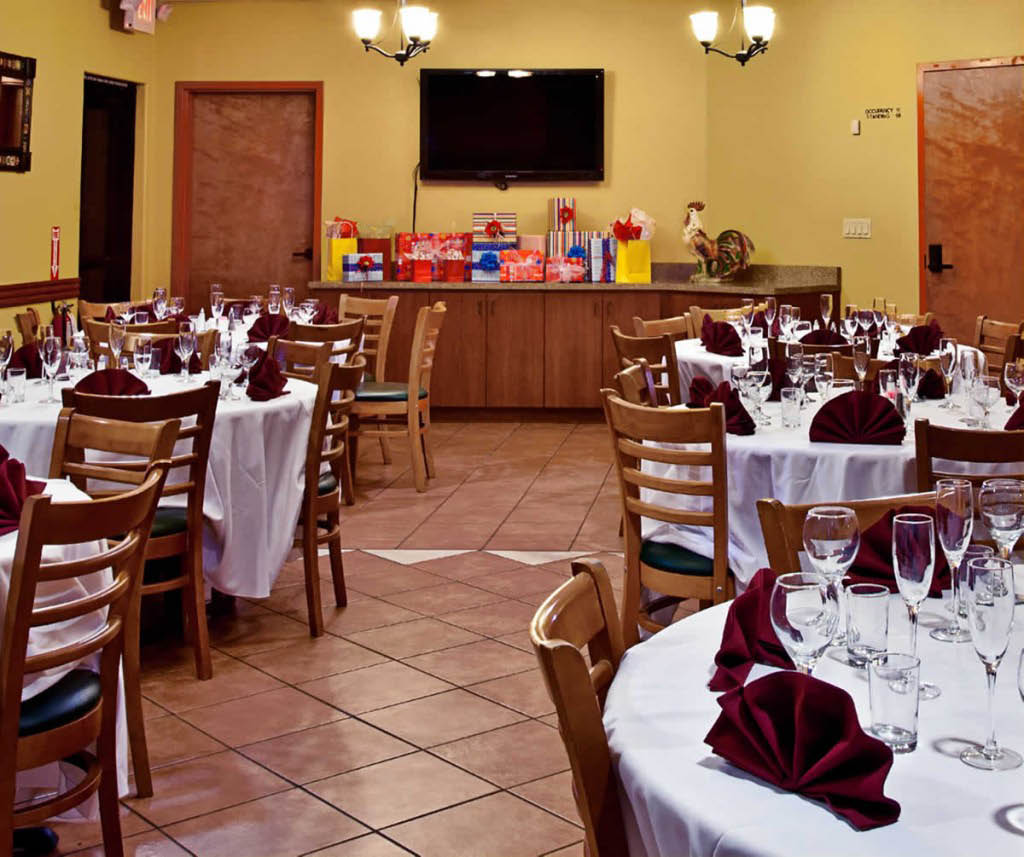 Mexican restaurant, banquet hall