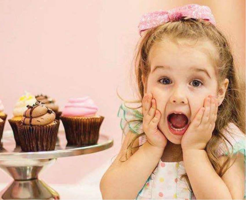 cupcakes at smallcakes in Arlington, TX