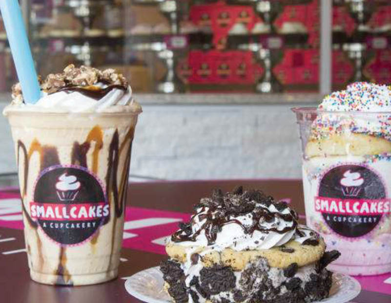 Sweets at SmallCakes in Keller Tx