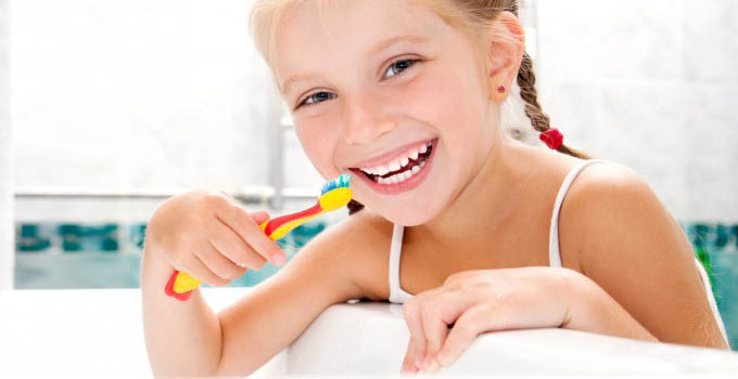 We teach children about preventive dental care they can do at home
