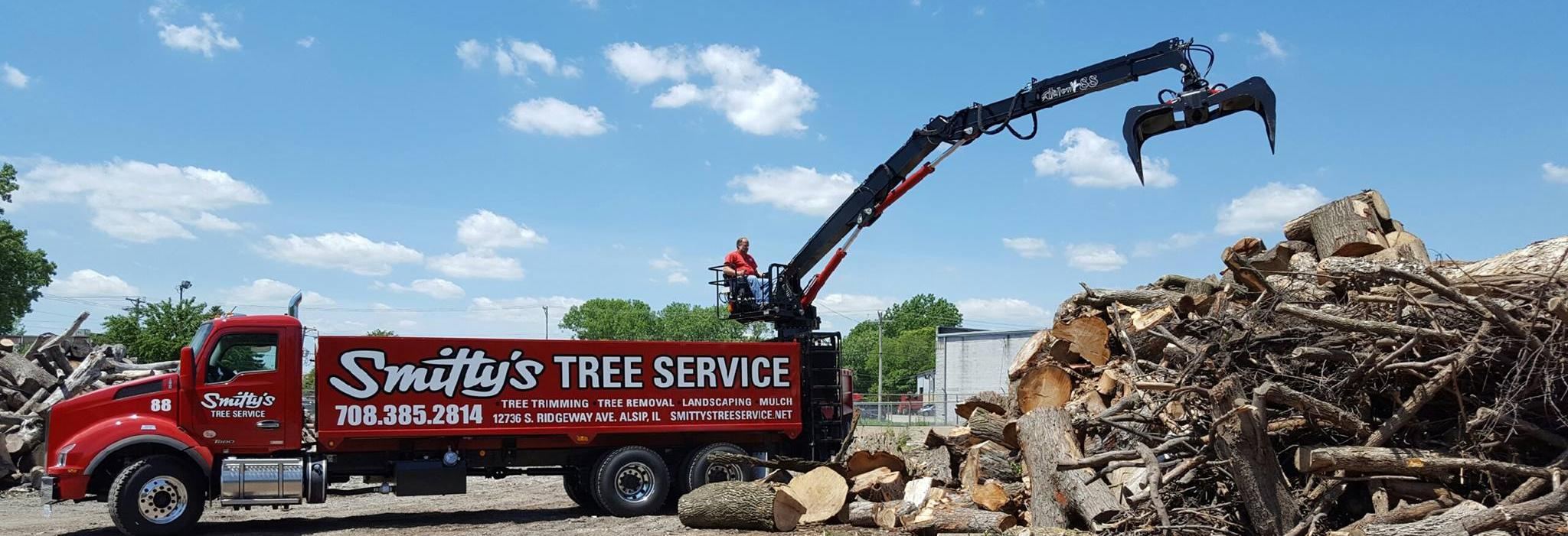 Smittys's Tree Service,family owned and operated serving Chicagoland for over 60 years.