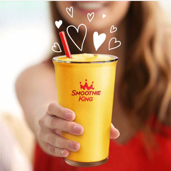 Smoothie King has health and wellness benefits
