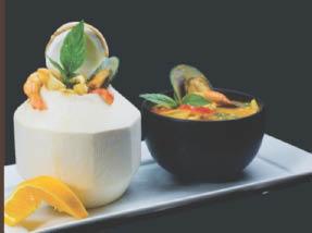 Delicious Thai coconut bowls