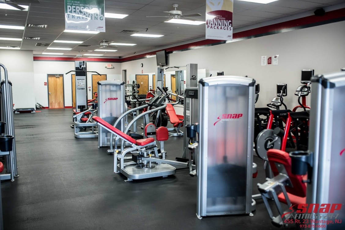 More workout equipment at Snap Fitness in Wantage NJ