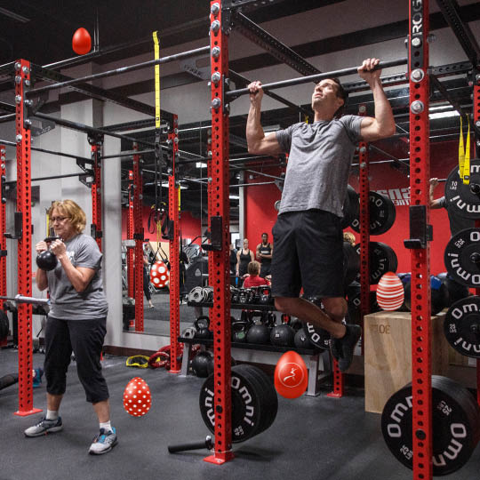 strength training at Snap Fitness in Tucson
