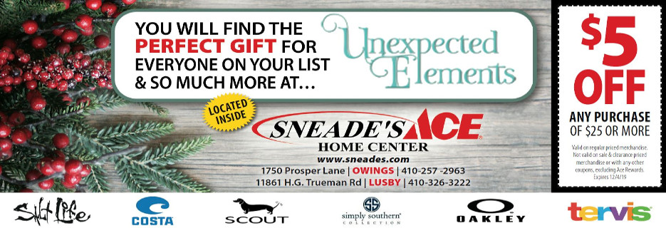 Sneade's Ace Home Center Owings and Lusby Maryland