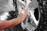RV Detailing  at Soapy Suds Car Wash in Valencia CA