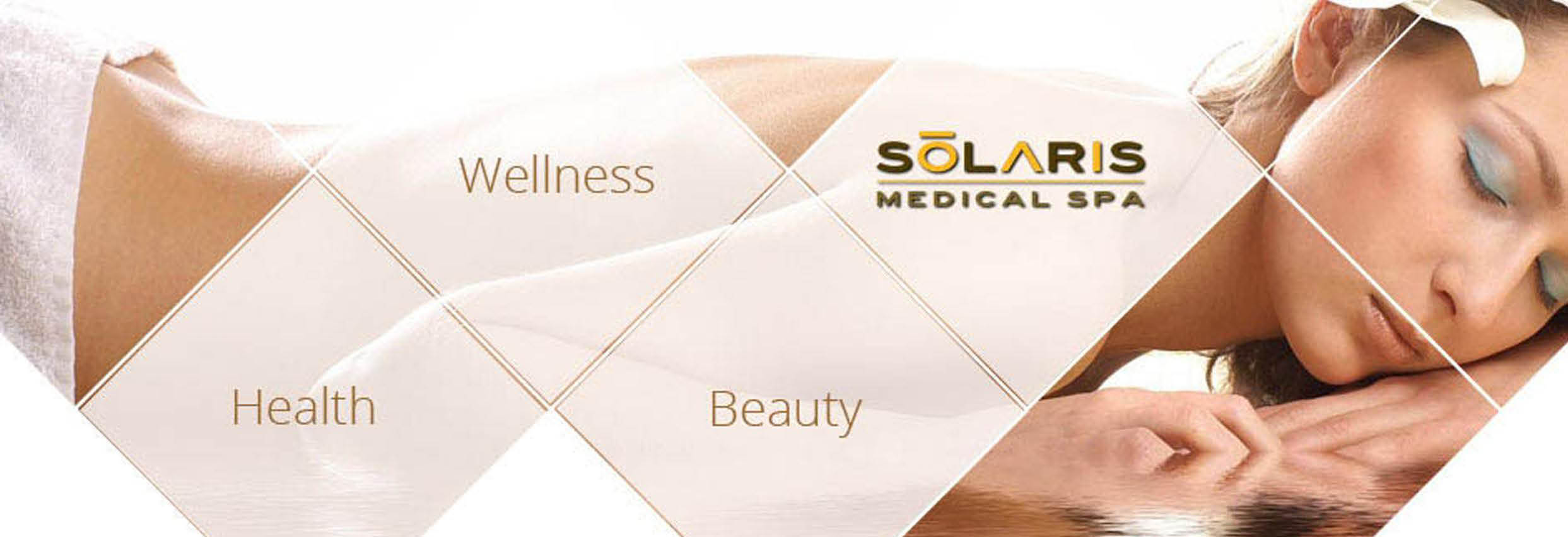 Solaris Medical Spa located in Mequon, WI skin care, anti-aging & weight loss wellness spa banner