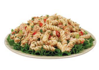Souper Salad prepared pasta plates