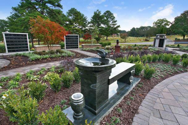 memory park; cemeteries in Georgia