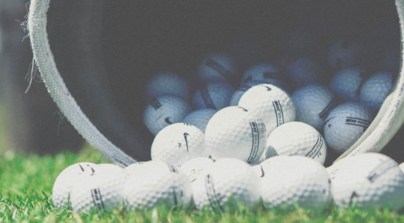 Grab your bag, a bucket of balls and head to the driving range for some practice