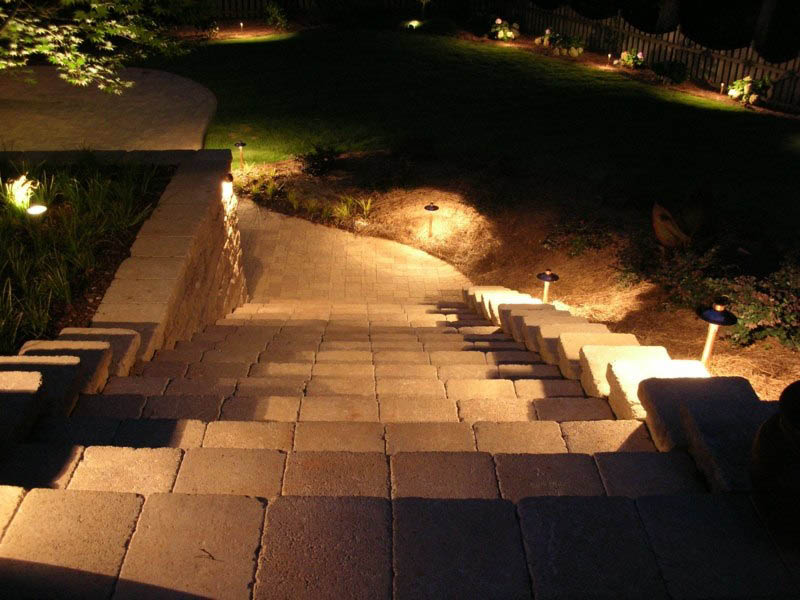 Outdoor security lighting can be a deterrent to crime