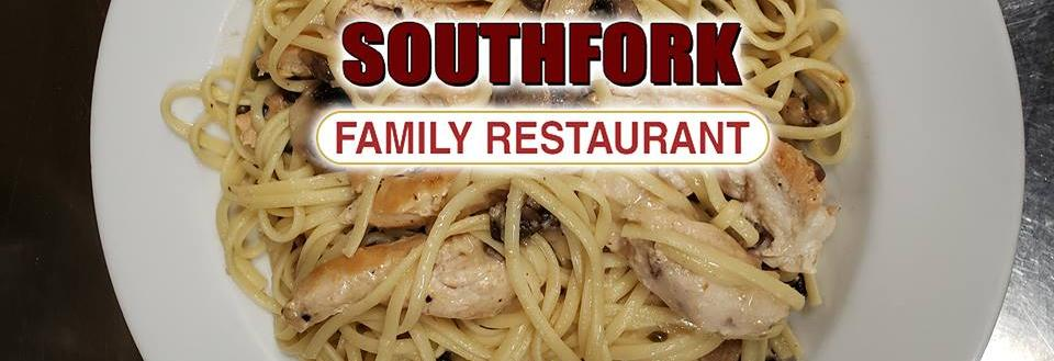 Delicious food, South Fork Family Retsaurant is your place when you can't eat at home.