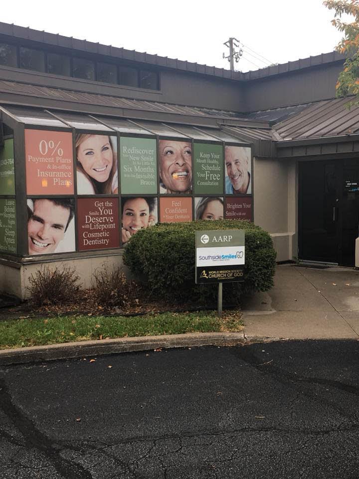 Outside the dentist office