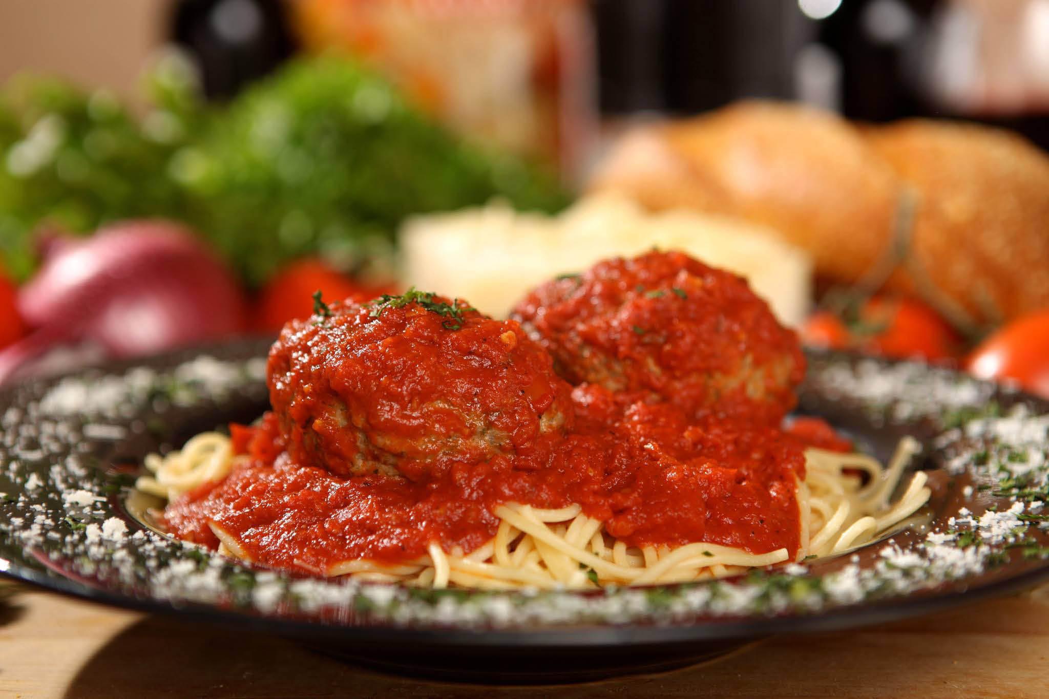 Authentic Italian recipe spaghetti and meatballs