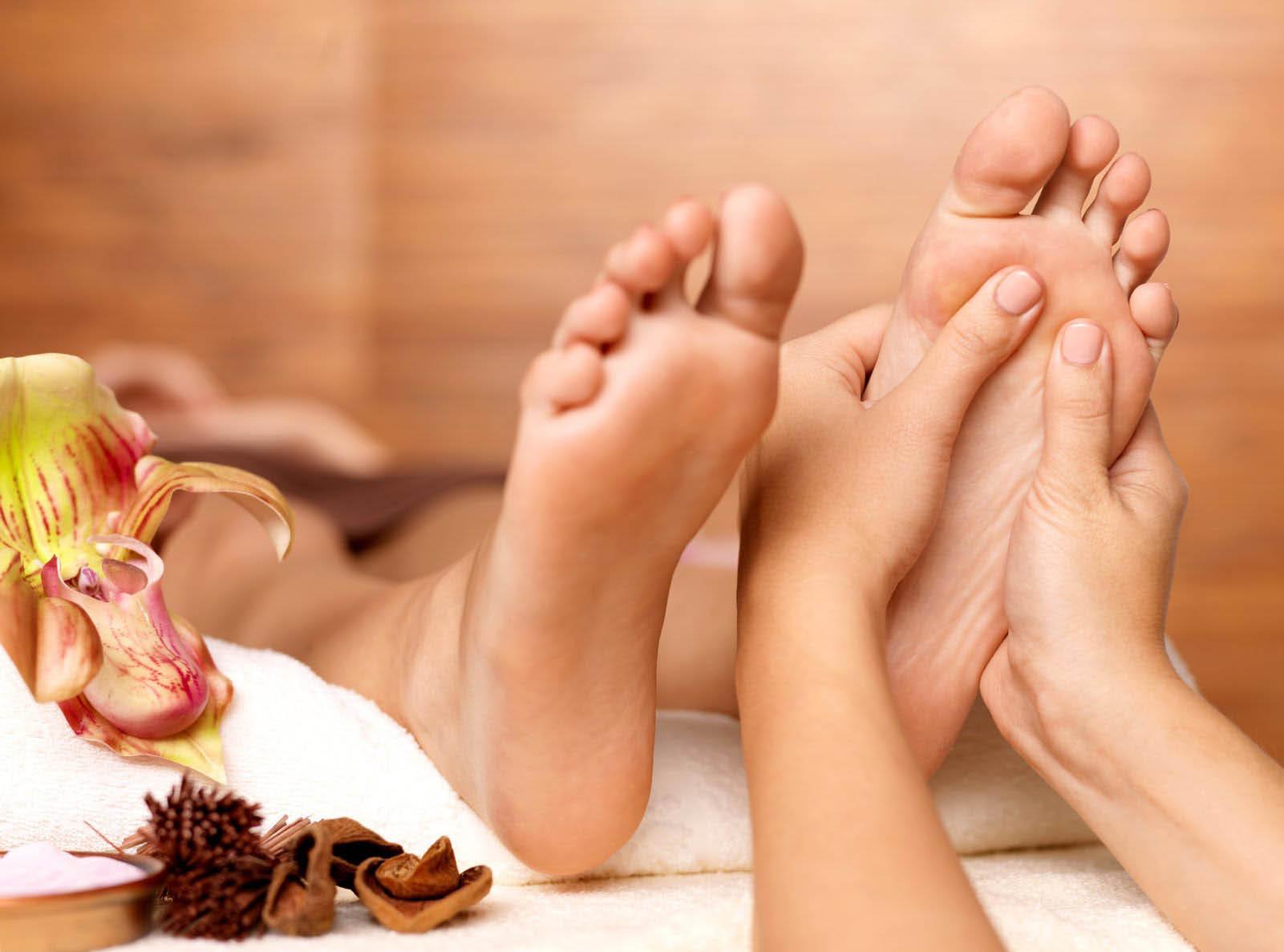 Spalation Ultimate Massage Retreat's Picture of a Reflexology Foot Massage
