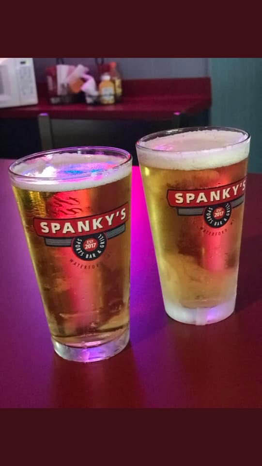Spanky's Sports Bar and Grill Waterford WI beer