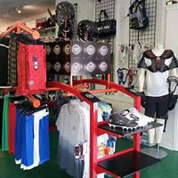 soccer, baseball, football equipment and uniforms at Specialty Sports in Savannah