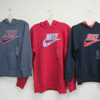 Specialty Sports sells Nike brand clothing and equipment
