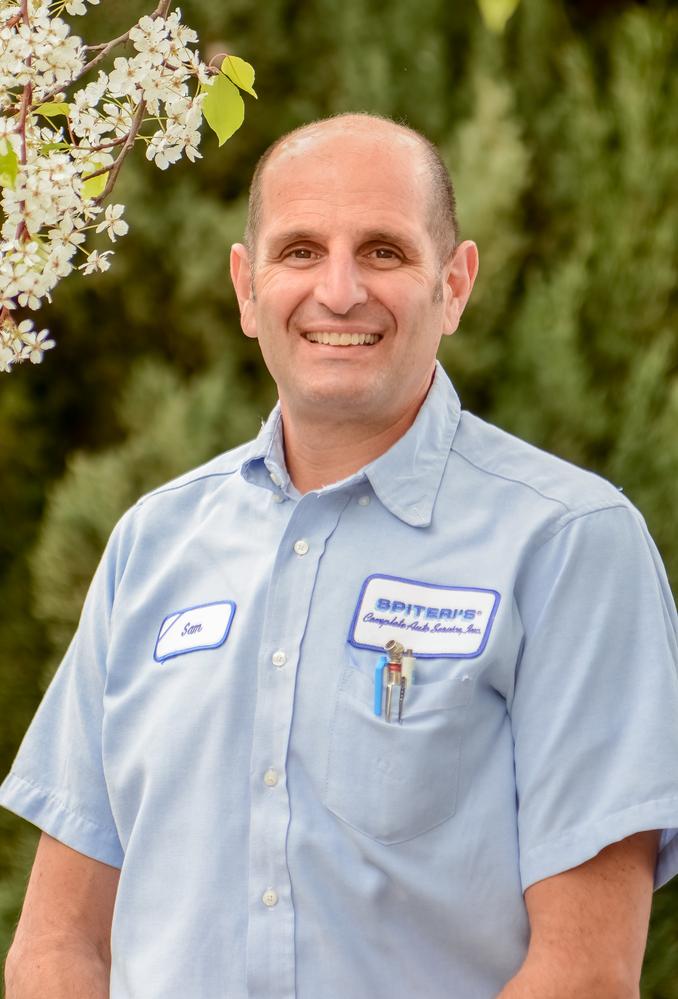 Sam Spiteri from Spiteri's Auto Service in Belmont, CA