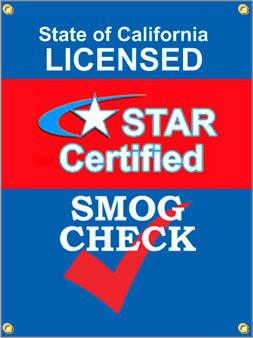 We give smog check tests to help you pas California emissions tests