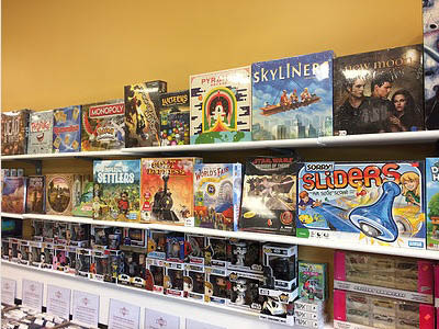 Tons of Board Games available at Sports Page & MC Game Room in Randolph NJ