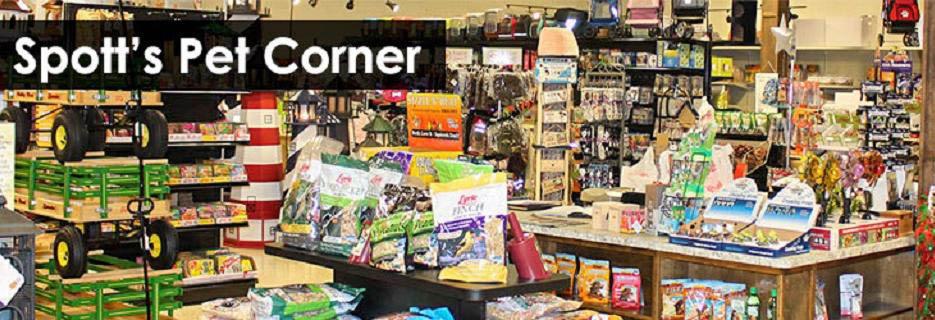 spott's pet corner,pet supplies,pet food,pet toys,amish market,discount,