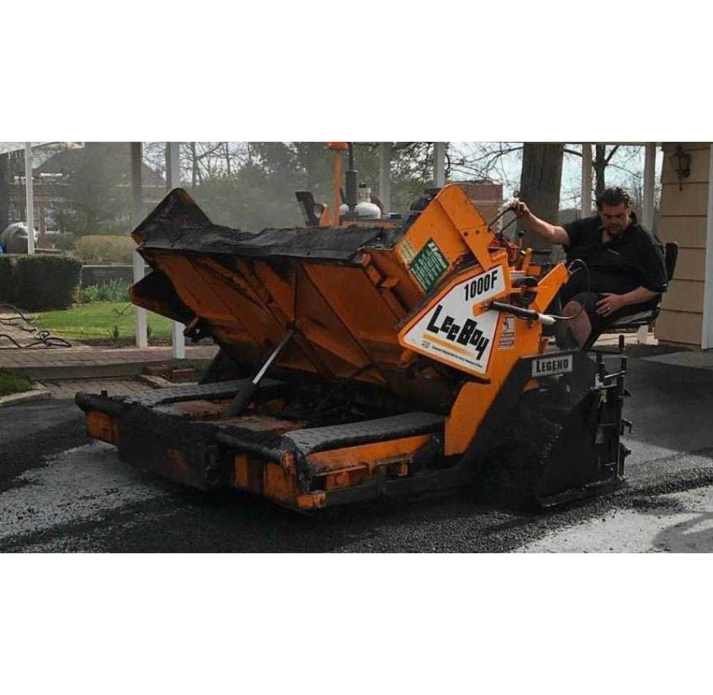 E Sprague Paving Heavy Equipment