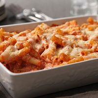 Baked ziti - the perfect answer to Sunday dinner
