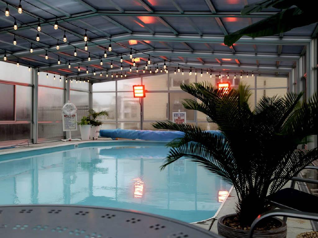 The Square at Latham Park pool
