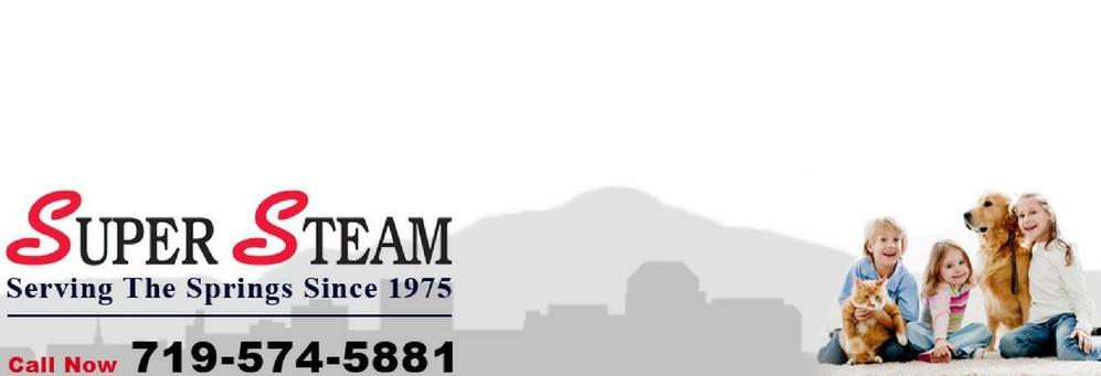 Super Steam banner Colorado Springs, CO