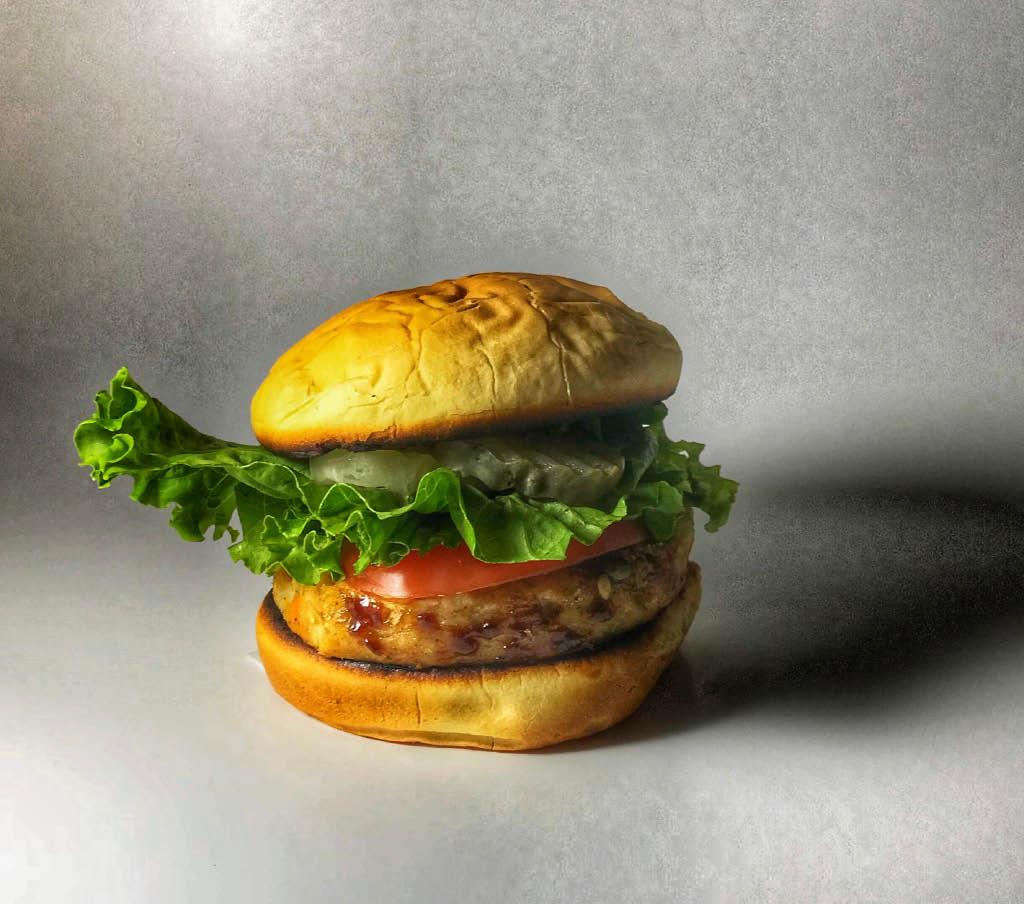 st veg burger