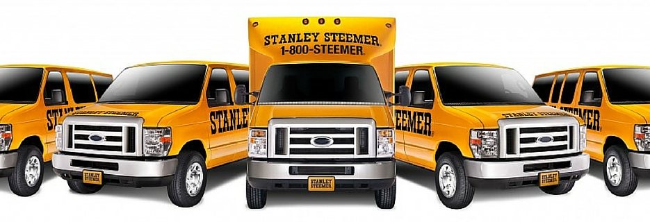 Stanley Steemer truck fleet in Colorado Springs, CO banner
