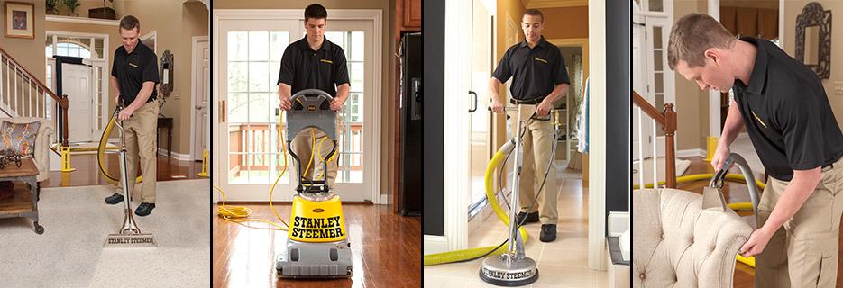 Stanley Steemer carpet cleaner banner ad