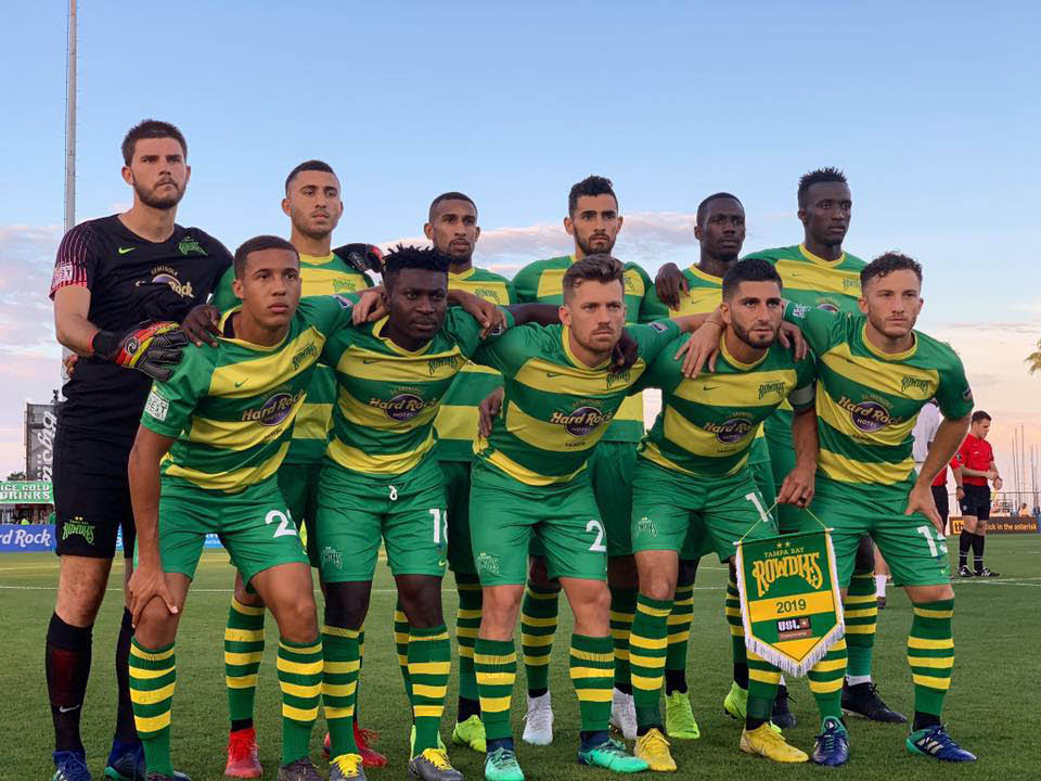 Tampa Bay Rowdies youth soccer league